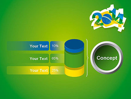 2014 Brazil World Cup PowerPoint Template Slide 11