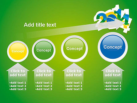 2014 Brazil World Cup PowerPoint Template Slide 13