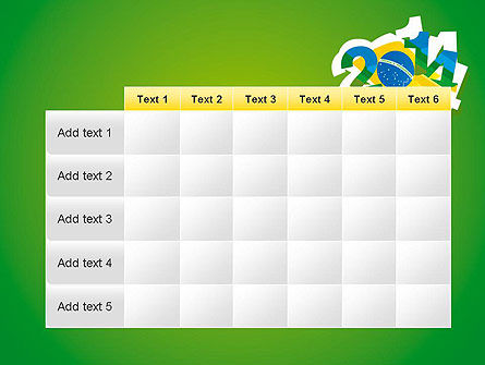 2014 Brazil World Cup PowerPoint Template Slide 15