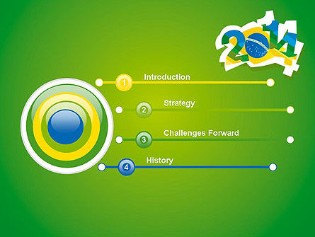 2014 Brazil World Cup PowerPoint Template Slide 3