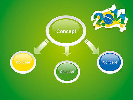 2014 Brazil World Cup PowerPoint Template Slide 4