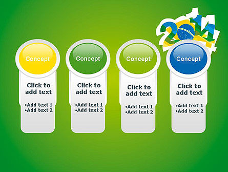 2014 Brazil World Cup PowerPoint Template Slide 5