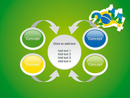 2014 Brazil World Cup PowerPoint Template Slide 6