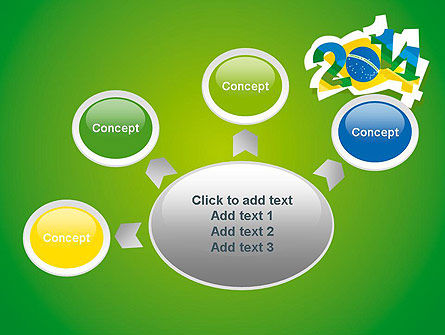2014 Brazil World Cup PowerPoint Template Slide 7