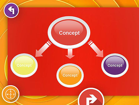 Choice of Direction PowerPoint Template, Slide 4, 12217, Business Concepts — PoweredTemplate.com