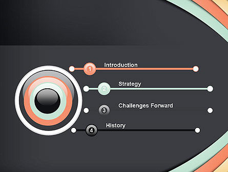 Like a Bullet PowerPoint Template, Slide 3, 12219, Abstract/Textures — PoweredTemplate.com
