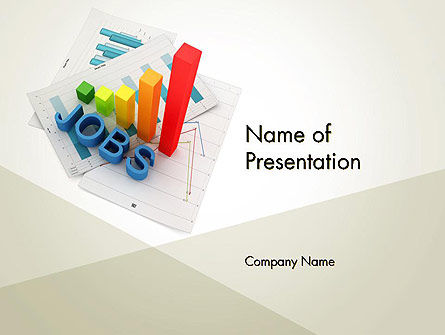Job Growth PowerPoint Template, 12220, Careers/Industry — PoweredTemplate.com