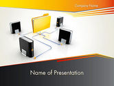 Technology and Science: Data Backup PowerPoint Template #12222