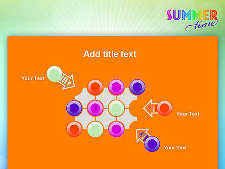 Summer Disco Theme PowerPoint Template Slide 10
