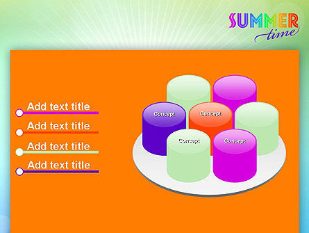 Summer Disco Theme PowerPoint Template Slide 12