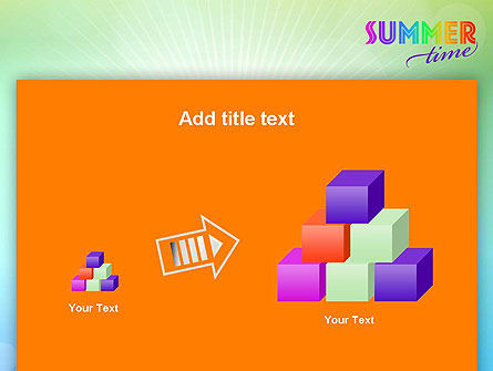 Summer Disco Theme PowerPoint Template Slide 13