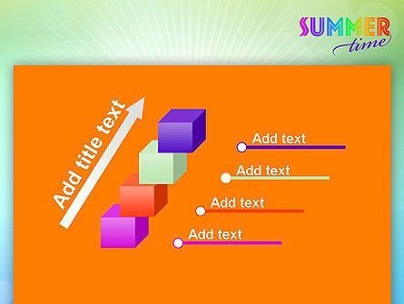 Summer Disco Theme PowerPoint Template Slide 14