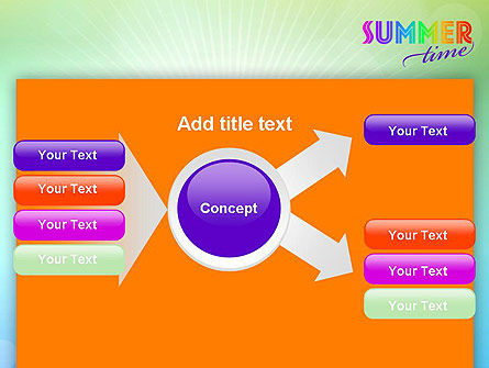 Summer Disco Theme PowerPoint Template Slide 15