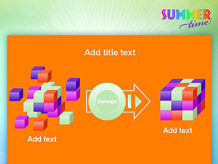 Summer Disco Theme PowerPoint Template Slide 17