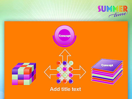 Summer Disco Theme PowerPoint Template Slide 19