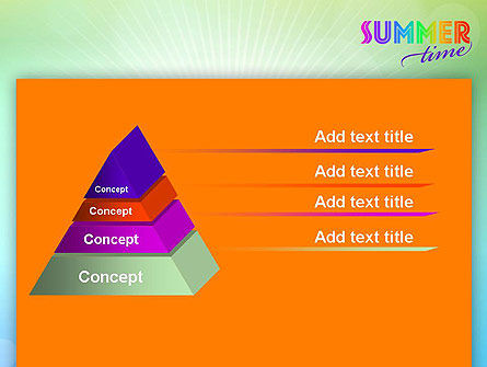 Summer Disco Theme PowerPoint Template Slide 4