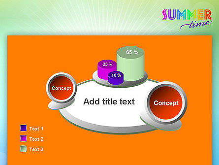 Summer Disco Theme PowerPoint Template Slide 6