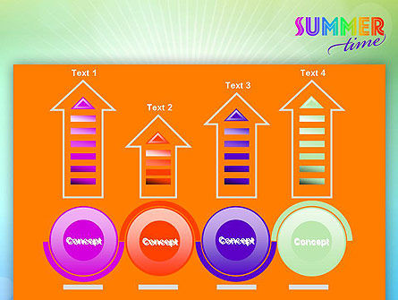 Summer Disco Theme PowerPoint Template Slide 7