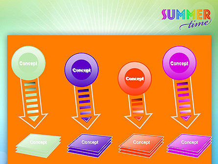 Summer Disco Theme PowerPoint Template Slide 8