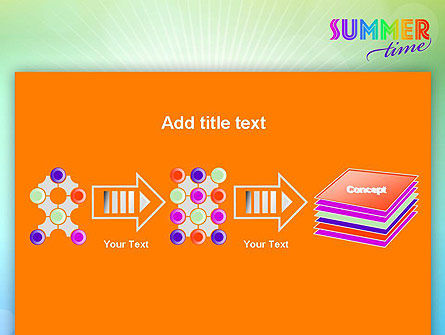 Summer Disco Theme PowerPoint Template Slide 9