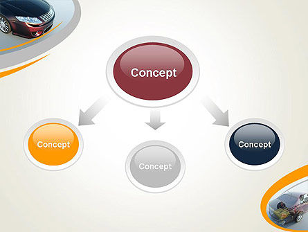 Tesla Car PowerPoint Template, Slide 4, 12228, Cars and Transportation — PoweredTemplate.com