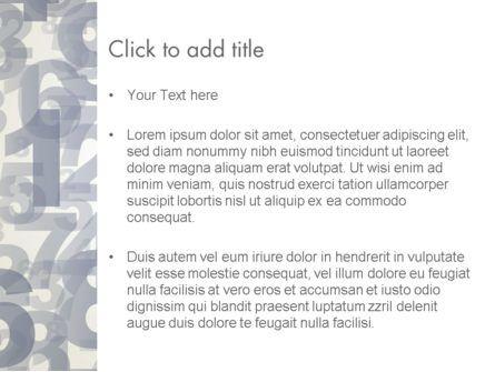Numerology PowerPoint Template, Slide 3, 12229, Abstract/Textures — PoweredTemplate.com