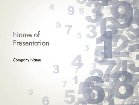 Numerology PowerPoint Template