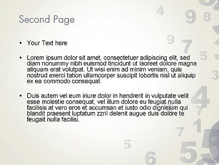 Numerology PowerPoint Template Slide 2