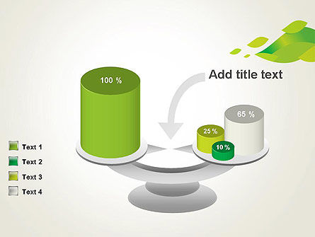 Bright Green Leafs PowerPoint Template Slide 10