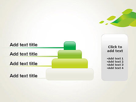 Bright Green Leafs PowerPoint Template Slide 8