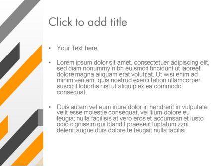 Tilted Strips PowerPoint Template, Slide 3, 12232, Business — PoweredTemplate.com