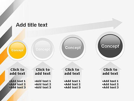 Tilted Strips PowerPoint Template Slide 13