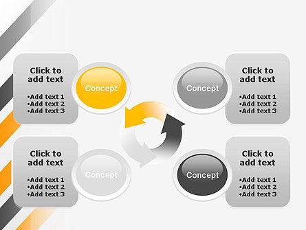 Tilted Strips PowerPoint Template Slide 9