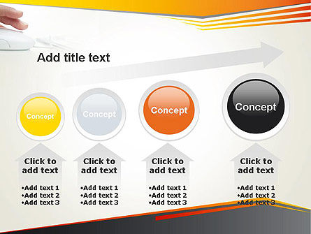 Working with Computer PowerPoint Template Slide 13