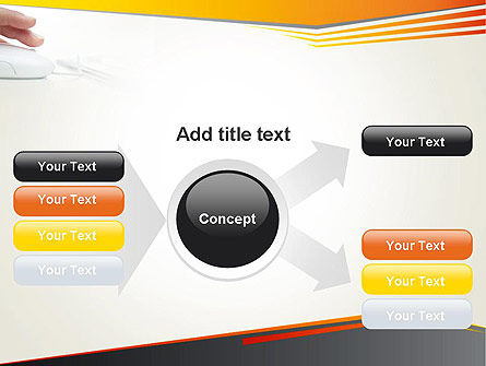 Working with Computer PowerPoint Template Slide 14