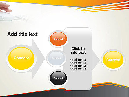 Working with Computer PowerPoint Template Slide 17