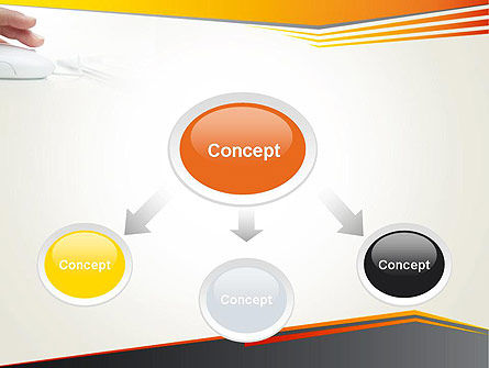 Working with Computer PowerPoint Template, Slide 4, 12235, Education & Training — PoweredTemplate.com
