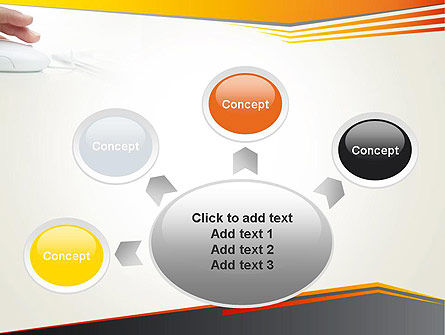 Working with Computer PowerPoint Template Slide 7