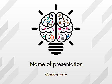 Creative Brain PowerPoint Template
