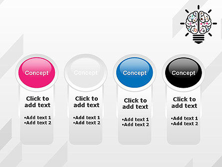 Creative Brain PowerPoint Template Slide 5