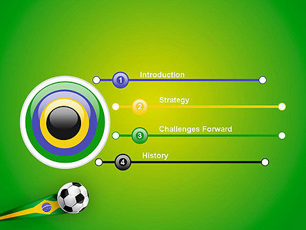 Brazilian Football PowerPoint Template Slide 3