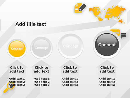 Orange World PowerPoint Template Slide 13