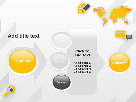 Orange World PowerPoint Template Slide 17