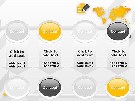 Orange World PowerPoint Template Slide 18