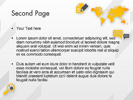 Orange World PowerPoint Template Slide 2