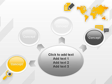 Orange World PowerPoint Template Slide 7