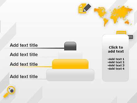 Orange World PowerPoint Template Slide 8
