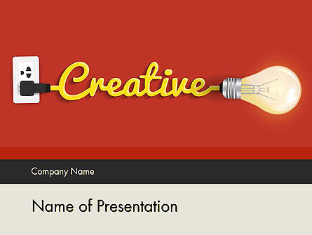 Creative Content Ideas PowerPoint Template, 12244, Careers/Industry — PoweredTemplate.com