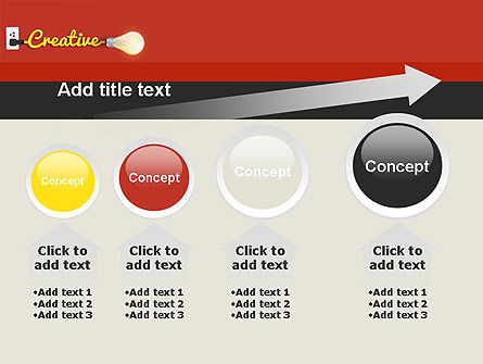 Creative Content Ideas PowerPoint Template Slide 13