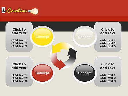 Creative Content Ideas PowerPoint Template Slide 9